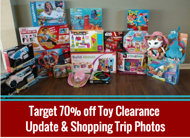 Target 70% off Toy Clearance July 2016