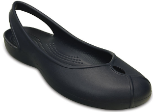 crocs women navy
