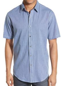 nord guy blue shirt