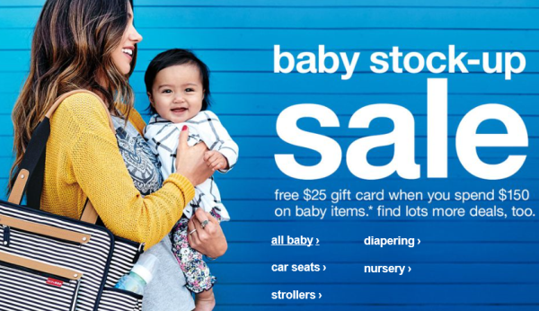 target baby sale pic