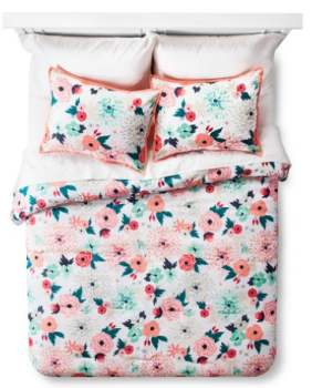 target bedding pink flower