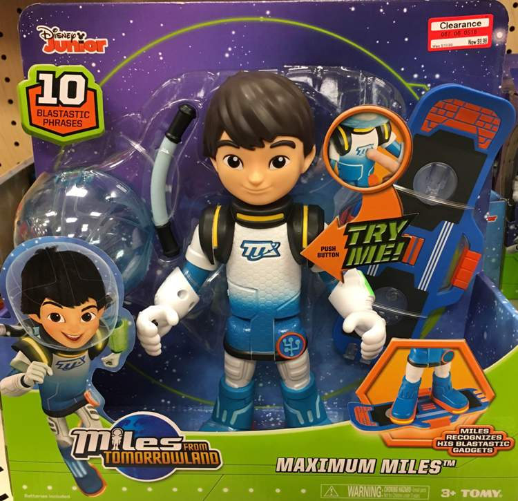 target clear toy miles dis jr