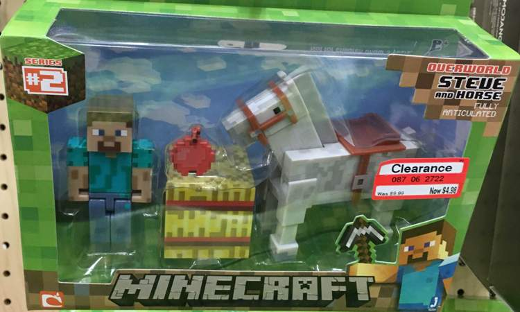 target clear toy minecraft