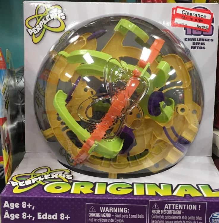 target clear toy perplexus