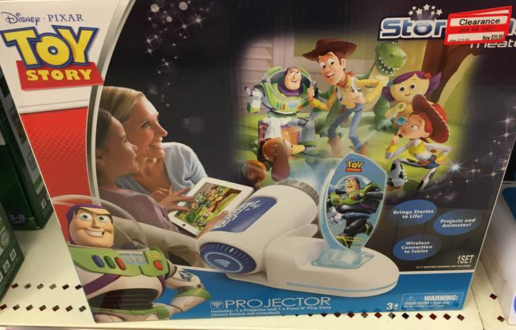 target clear toy projector