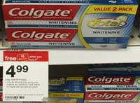 target colgate toothpaste