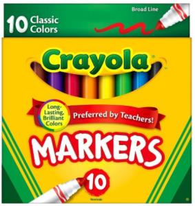 target crayola marker