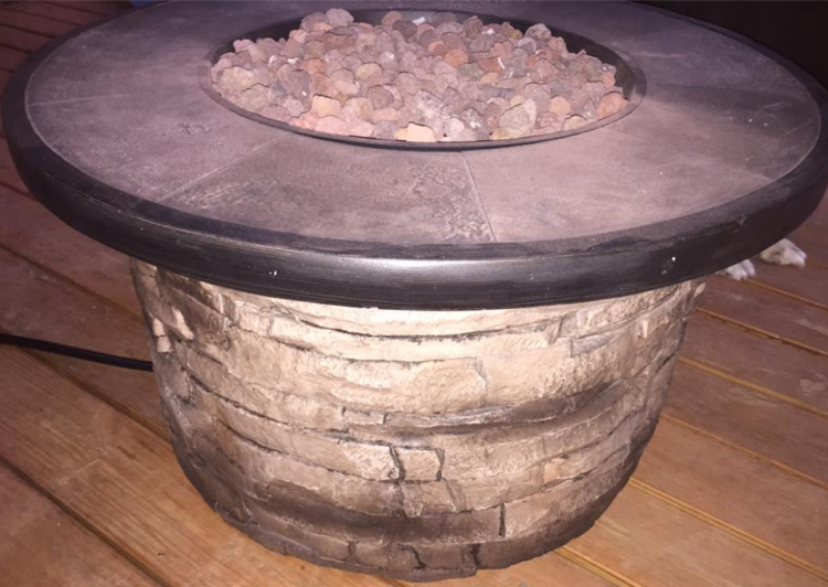 target read clear fire pit