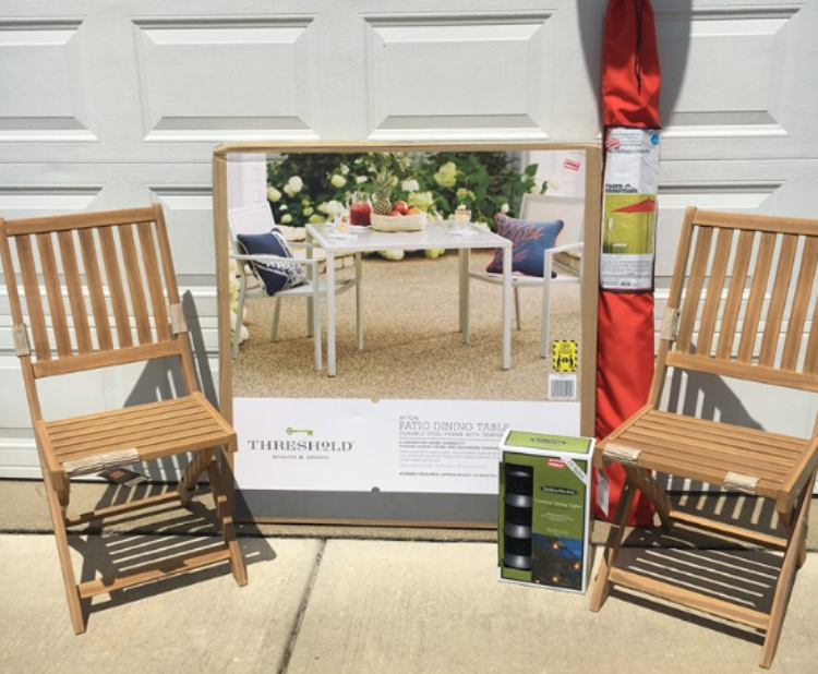 Patio furniture on clearance