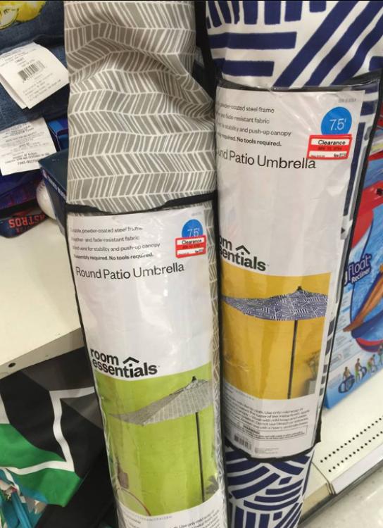 target read clear new priscilla umbrella