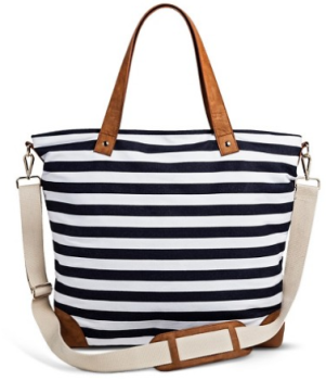 target stripe purse