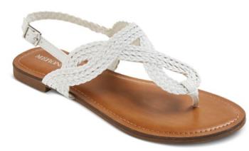 target white sandal