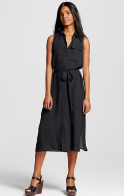 target www black dress