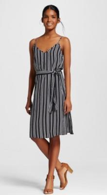target www stripe dress