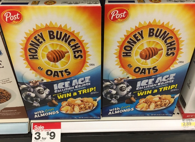 Honey Bunches of Oats at Target