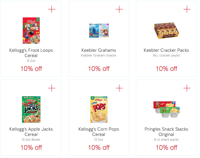 Kelloggs Cartwheel offers