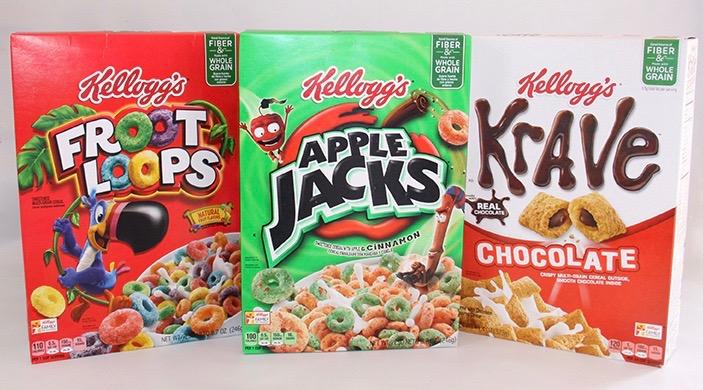 kelloggs kids cereal