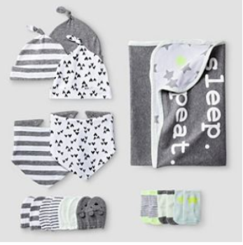 target cat jack baby sleep set