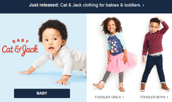 918e54fb8 Cat & Jack Now Available for Baby & Toddler | All Things Target