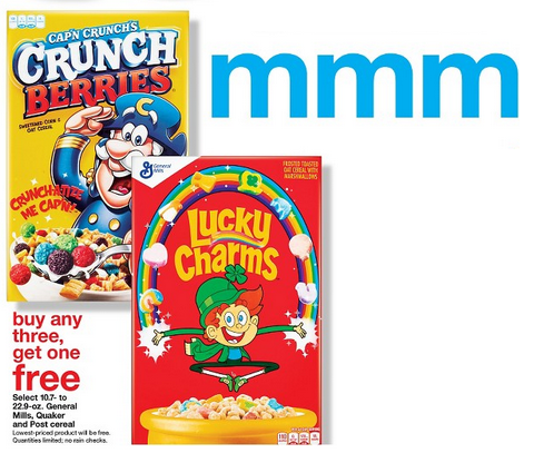 target cereal ad pic