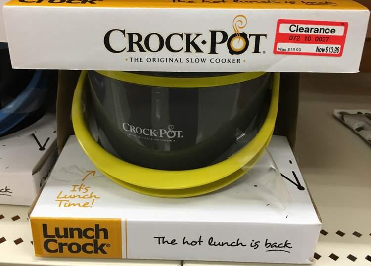 target clear crock pot 30
