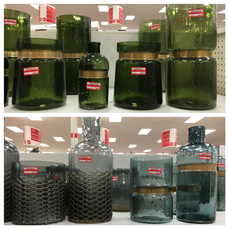 target clear glass jar 50