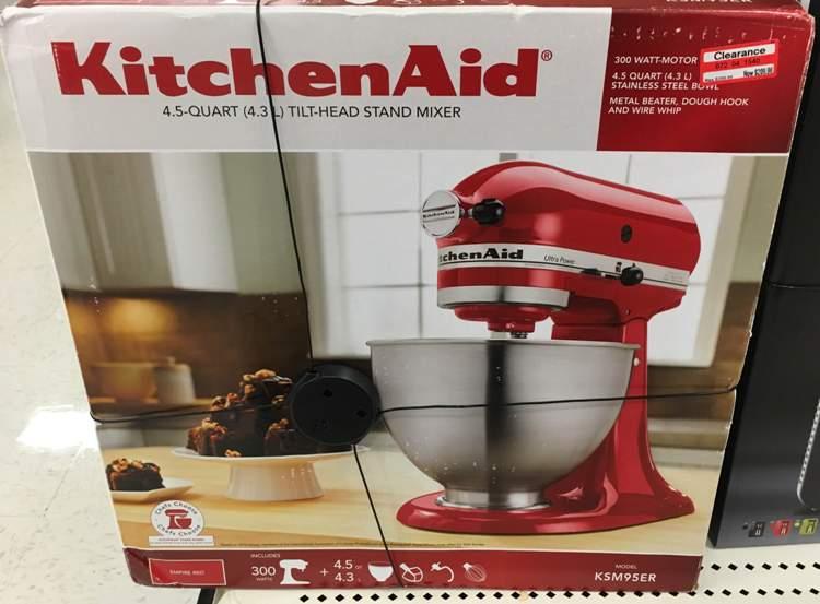 target clear kitchenaid 30