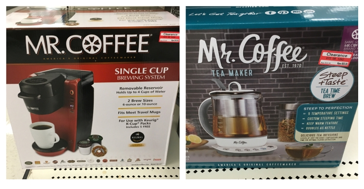 target clear mr coffee 30