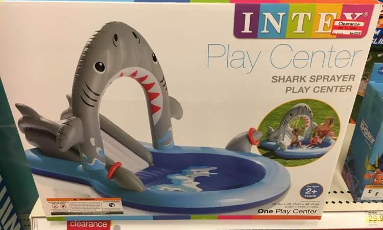 target clear shark pool 30