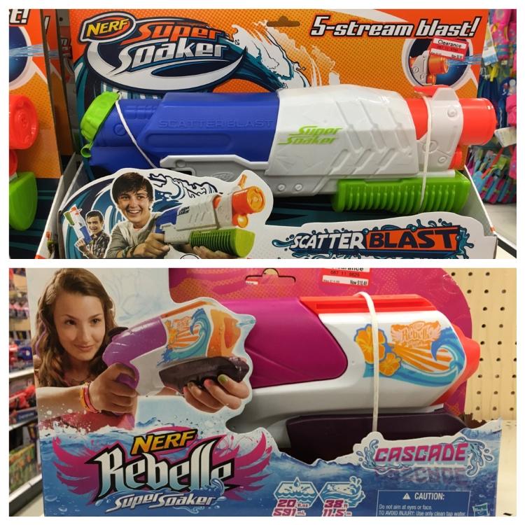 target clear soaker gun 30