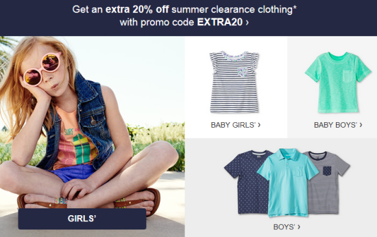 e73a7be2f Target.com  Extra 20% off Kids  Clearance Clothing
