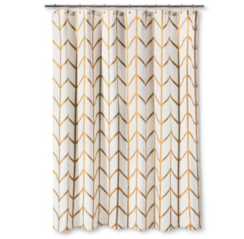 Simple target curtain