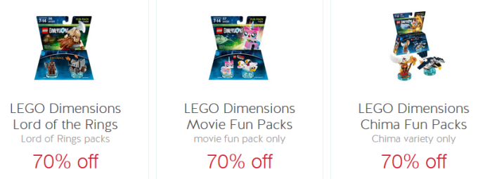 target cw lego offers