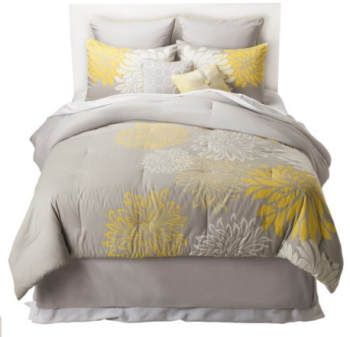 target grey bedding