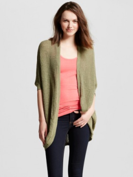 target olive sweater
