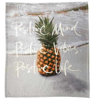 target pineapple blanket