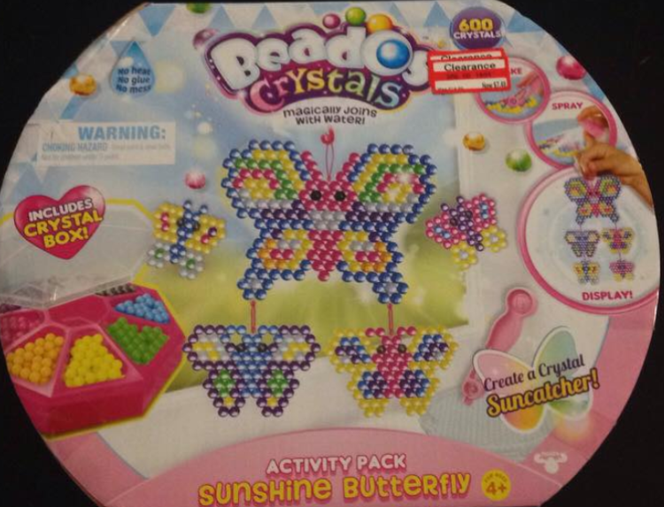 target read clear lisa bead toy