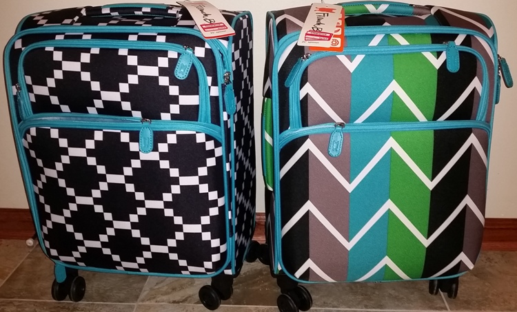 target read clear stacy luggage
