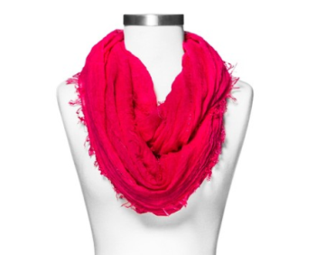 target red scarf