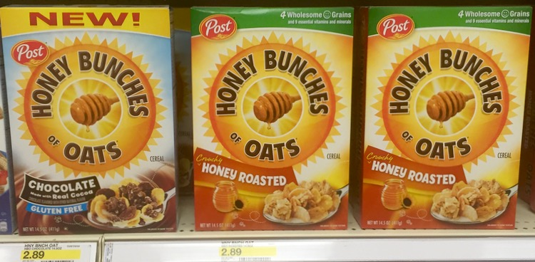 Honey Bunches of Oats and Target