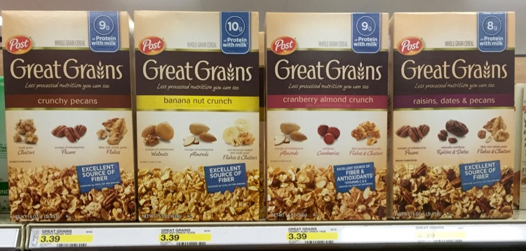 Post Great Grains at Target