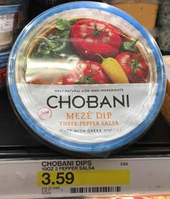 target chobani
