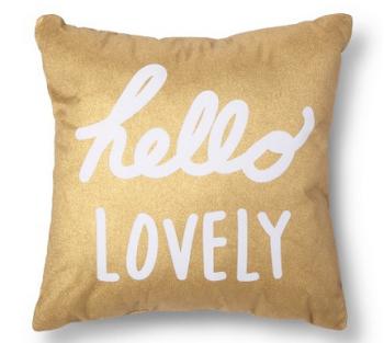 target-hello-pillow