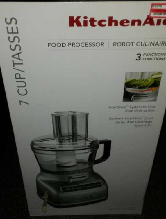 Kitchenaid vs cuisinart food processor 2017