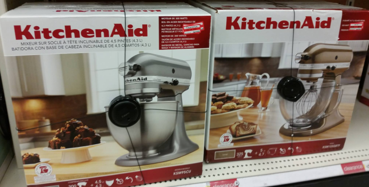 Target: 50% off KitchenAid Mixer Clearance?? - All Things Target on kenwood limited, amana corporation, kenwood chef, whirlpool corporation, meyer corporation, hamilton beach brands, sunbeam products,