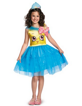 Girlsu0027 Shopkins Cupcake Queen Classic Costume $20.00. Save 40% at checkout (-$8.00) Final Price u003d $12.00  sc 1 st  All Things Target & Kidsu0027 Halloween Costumes at Target | All Things Target