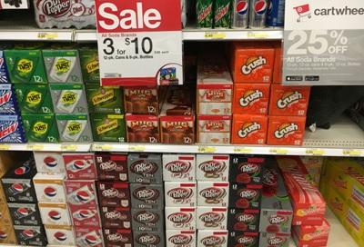 target soda