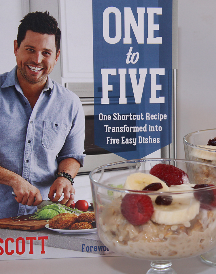 One to Five cookbook by Ryan Scott