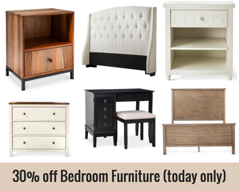 Target.com: Save 30% Off Bedroom Furniture (today Only)