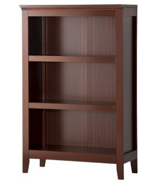 Cool target bookcase chesnut